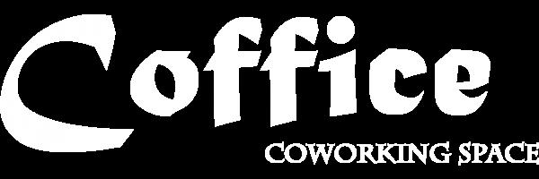Coffice White Logo